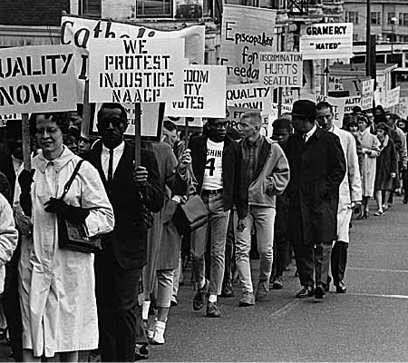 was the civil rights movement successful in ending racial discrimination By the mid-1960s, the civil rights campaign had successfully abolished segregation in education, discrimination in public accommodations and employment, and eliminated many of the impediments to enfranchisement.